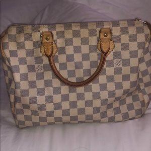 Louis Vuitton speedy 30 handbag 100% authentic